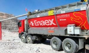 Enaex obtiene utilidad récord durante el año pasado