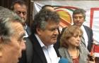 Conformes se demostraron los líderes del movimiento sindical de Codelco