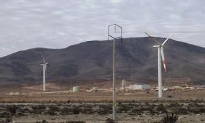 Inauguran parque eólico más grande de Chile