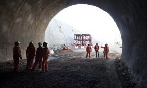 Avance de túneles Nuevo Nivel Mina de El Teniente ya llevan más de 1 kilometro