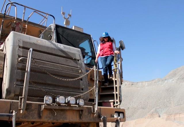Sigue firme la inserción de la mujer en la minería