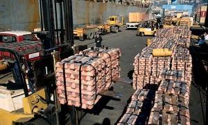 Minería anota baja en sus exportaciones de2013