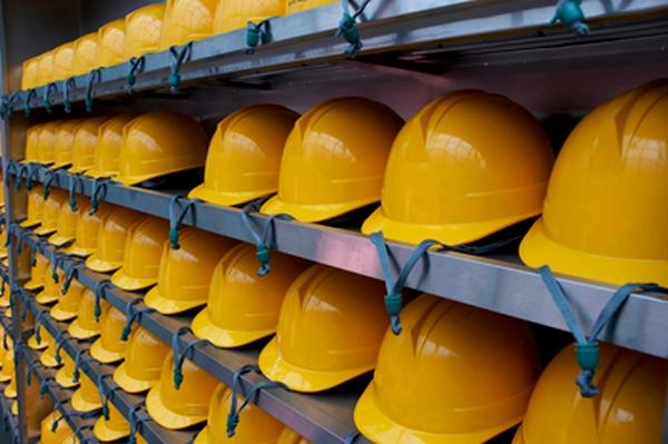 cascos trabajadores