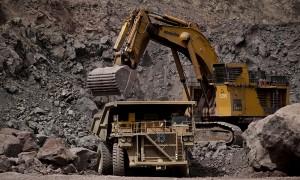 minería camión