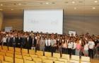 El aniversario de la carrera de Ingeniería de Minas fue celebrado con un masivo evento académico. (Foto: U. de Chile)