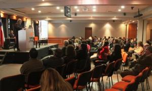 """El seminario """"Lecciones aprendidas del rescate de los 33 mineros"""", fue organizada por la Escuela de Minas, de la Universidad de Las Américas. (Foto: Revista NME)"""