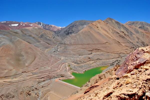 La mina de oro El Indio cerró sus faenas a mediados de 2002. (Foto: Ministerio de Minería)