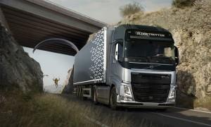 Volvo realiza insólita prueba de velocidad y ahorro de combustible