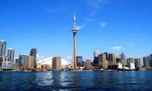 Toronto, la capital financiera de Canadá.