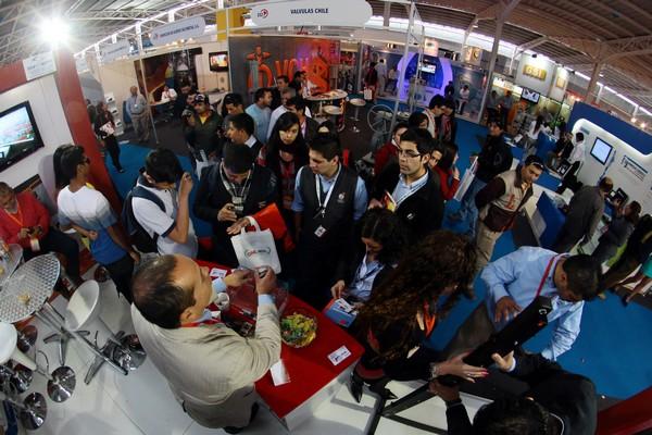 """La plataforma """"Lanza tu innovación"""" ha sido potenciada para servir de puente entre las Startup y la industria minera que opera en Chile, en el marco de Exponor. (Foto: AIA)"""