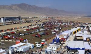 La Quinta y Décima Compañía de Bomberos de Antofagasta administrará los 4 mil estacionamientos de Exponor 2017. (Foto: AIA)
