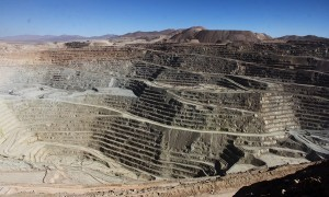 Minera Escondida, el principal activo de BHP Billiton en Chile. (Foto: Joaquín Ruiz)