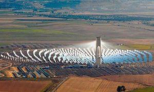 Cerro Dominador busca retomar construcción de concentrador solar a comienzos de 2018