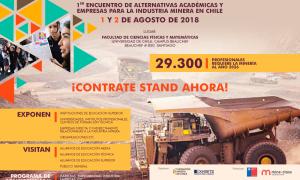 Fundación Minera de Chile realizará primer encuentro de alternativas académicas relacionadas al sector